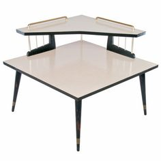 Mid-Century Corner Table, $277, now featured on Fab.