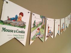 If you give a MOUSE A COOKIE book page by HomeHappyHomeDecor