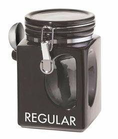Oggi EZ Grip Regular Coffee Canister, Black by Oggi, http://www.amazon.com/dp/B001D7KGEY/ref=cm_sw_r_pi_dp_t7hRrb1X9MRWP