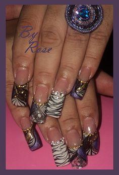 Browns,purple and gold by xXxROSExXx - Nail Art Gallery nailartgallery.nailsmag.com by Nails Magazine www.nailsmag.com #nailart