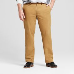 Men's Big & Tall Straight Fit Hennepin Chino Pants - Goodfellow & Co