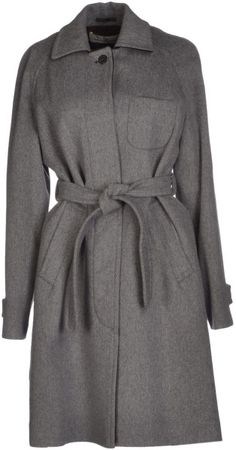 Golden Goose Deluxe Brand - Gray Coat - Lyst 499e27814