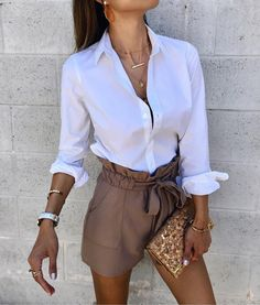 """My shorts are 30% off!! Now less than $40!! My top is 40% off with code """"HOORAY"""" I love that word!!!! It's what I think describes much of lifeEach day is a new Hooray...filled with lots of other Hoorays teeehehe!!! YAY!Follow me @interiordesignerella in the free @liketoknow.it app to shop!! Soooo grateful it's the weekend!!! And grateful for YOU!Sweet dreams my sweets!!!xo!! http://liketk.it/2waxq #liketkit #LTKsalealert #LTKunder50 #LTKunder100 #weekendstyle #shorts #casualstyle #necklace…"""