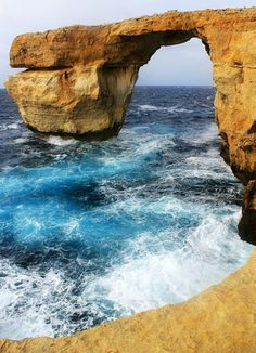 Beautiful Azure window-Gozo Island, Malta