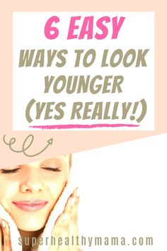 HOW TO LOOK YOUNGER – 6 EASY TIPS TO LOOK MORE YOUTHFUL | How to look younger in your 30s | How to look younger in your 30s | How to look younger over 40 | How to look younger after 50 | How to look younger naturally | How to look younger than your age How to look younger in your 30s skin care How to look younger with makeup | How to look younger in your 30s naturally | How to look younger in your 30s anti aging How to look younger naturally anti aging How to look younger over 40 without m Weight Loss Inspiration, Motivation Inspiration, Weight Loss Plans, Best Weight Loss, Life Motivation, Fitness Motivation, Fitness Goals, Fitness Tips, Organic Lifestyle