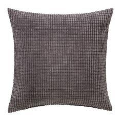 "Ikea Cushion Throw Pillow Cover Gullklocka Gray 20 X 20"""