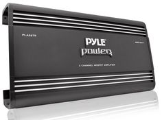 Pyle PLA2678 2 Channel 4000 Watts Bridgeable Mosfet Amplifier * Want to know more, click on the image. (It is an affiliate link and I receive commission through sales)