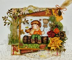 Christy Designs: Autumn Tilda with broom