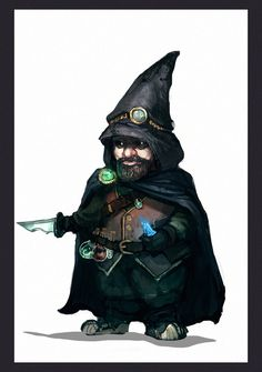 """This guy could be straight out of Sherry D. Ramsey's """"B.R.A.N.E., Inc."""" http://www.deviantart.com/art/Gnome-Thief-350322390"""