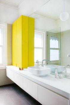 Bildergebnis Für Pastellgelbes Badezimmer