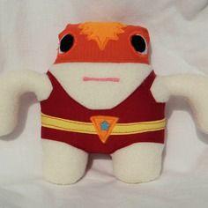 Mini catcheur - gros biscoteaux warrior