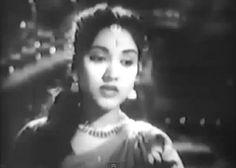 """Mohe Chhod Gaya Mora Sawariya"", an old hindi melodious song, sung by ""Lata Mangeshkar"", picturiesd on ""Vyjayantimala"" from 1956 released film ""Taj"" - Complete Lyrics Old Bollywood Songs, Bollywood Actress, 90s Hit Songs, Film Song, Lata Mangeshkar, Old Music, Sufi, Heroines, Retro Vintage"