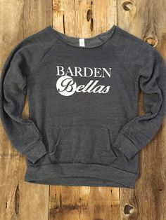Pitch Perfect Barden Bellas Maniac Sweatshirt by MandysPrints on Etsy https://www.etsy.com/listing/229361662/pitch-perfect-barden-bellas-maniac
