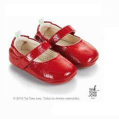 Sapatilha Tip Toey Joey Dolly Vermelha :: laranjeiras kids