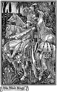 'The Three Kings' by Walter Crane