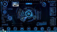 Jarvis 4.0 + Iron Man Mark 7 HUD
