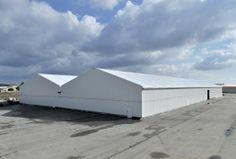 Bâtiment temporaire par Legoupil Industrie. #location #bâtiment industriel, bardage acier, charpente aluminium. http://www.legoupil-industrie.com