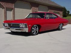 1967 Chevy Impala SS  - This is one of the cars I learned to drive in as well as VW Beetles, tractors, mini bikes, snowmobiles and any Nova, Camaro, or Opal that my dad or brothers had.