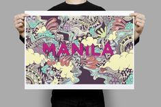 Behance Manila Project by Paulo Correa, via Behance