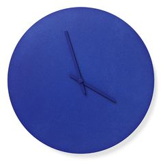Great Corbalt Blue Clock, $100.  Fantastic store on Abbot Kinney AplusR!  Dying for this store!  Norm Steel Wall Clock