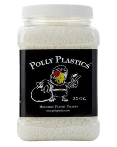 Polly Plastics Moldable Plastic Pellets 35 oz EZ Grip Jar Bonus Idea Booklet Included * You can find more details by visiting the image link. (This is an affiliate link) Moldable Plastic, Plastic Pellets, Plastic Molds, Plastic Art, Plastic Canvas, Fun Crafts, Arts And Crafts, Geek Crafts, Doll Crafts