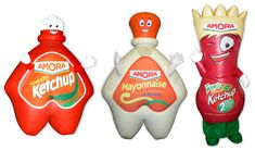 Amora Condiment Costumes! PD