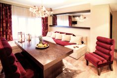 Luxurious Family Suite at Plaza Hotel in Thessaloniki.