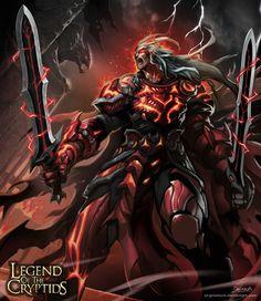 Crimson striker Advanced by el-grimlock.deviantart.com on @deviantART