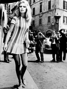 Brigitte Bardot in 1969.