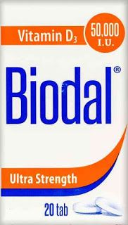 Biodal Vitamin D 50000 Vitamins Vitamin D Vitamin D3