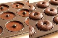 Baked Mini Chocolate Donuts