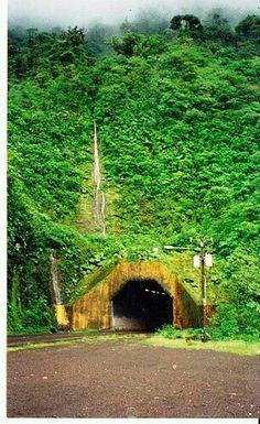 Zurqui Tunnel.  Braulio Carrillo National Park.