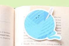 Crochet Yarn Ball Magnetic Bookmark (Jumbo)