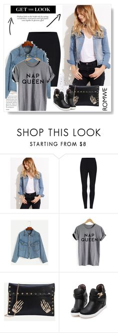 """""""romwe"""" by mirelaagm ❤ liked on Polyvore"""