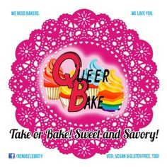 Queer Bake 3rd Saturday of Every month during the River Walk Merchant Wine Walk. Raising money for BOC and another charity each month.