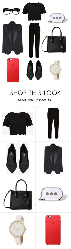 """""""Untitled #391"""" by ariannawildsong ❤ liked on Polyvore featuring Ted Baker, The Row, Yves Saint Laurent, Tom Ford, MICHAEL Michael Kors and PINTRILL"""
