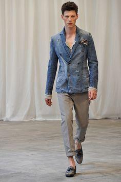 Sfilata Messagerie Milano Moda Uomo Primavera Estate 2015 - Vogue
