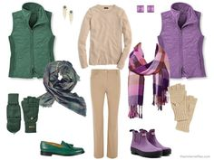 Choosing an Accent Color for Camel in your capsule wardrobe