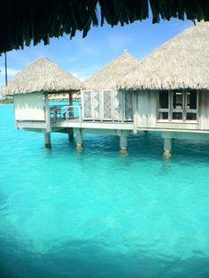 The St. Regis Bora Bora Resort in Bora Bora, French Polynesia