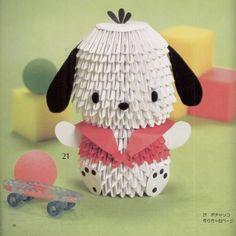 Origami Maniacs: Cute 3D Modular Origami