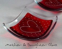 We are mother and daughter Barbara and Kelly. We are based in Plymouth, Devon and have been producing art work together since the beginning of 2010. We specialise in fused glass art, focusing mainly on our inspiration - nature.