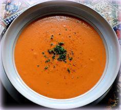 The English Kitchen: Mother's Creamy Tomato Soup
