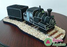 Mini Steam Engine Cake