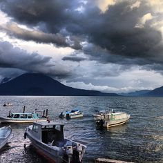 Photo by hiptipico #travel #guatemala #lakeatitlan #nature #sunset