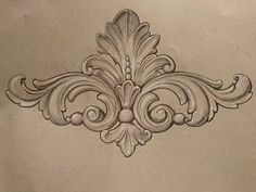 by ornamental _patterns on istagram Wood Carving Designs, Wood Carving Patterns, Baroque Frame, Zentangle, Ornament Pattern, Filigree Tattoo, Ornament Drawing, Frame Ornament, Tattoo Schwarz