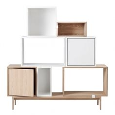 Muuto's Stacked modules with a door