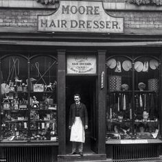 The Face of Shrewsburys Trade: Amazing Vintage Photographs Captured Shropshire Shop Fronts in 1888 - retro pin Gomez, English Shop, Store Displays, Retail Displays, Merchandising Displays, Window Displays, Shop Fronts, Old London, Old Buildings