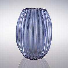 Glass Design, Design Art, Crystal Vase, Bukowski, Scandinavian Design, Modern Contemporary, Vases, Glass Art, Retro Vintage