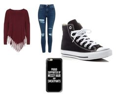 """""""125ste outfit"""" by merel-meuleman ❤ liked on Polyvore featuring Boris, Topshop, Converse and Casetify"""