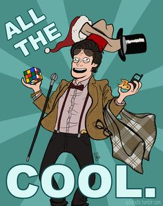 Matt Smith's Eleventh Doctor * 11 Things Matt Smith Made Cool on Doctor Who Tardis, Serie Doctor, Fanart, Fandoms, Eleventh Doctor, Dr Who, Superwholock, Mad Men, Will Smith